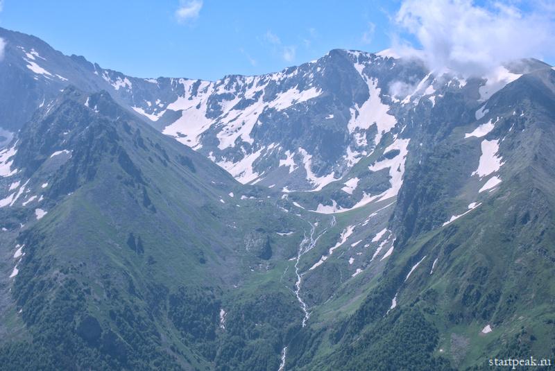 Верховья ущелья Аксаута