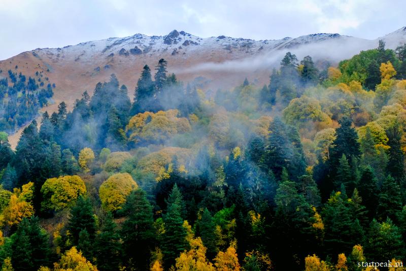 Софийский хребет осенью