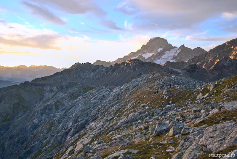 Гора София на рассвете