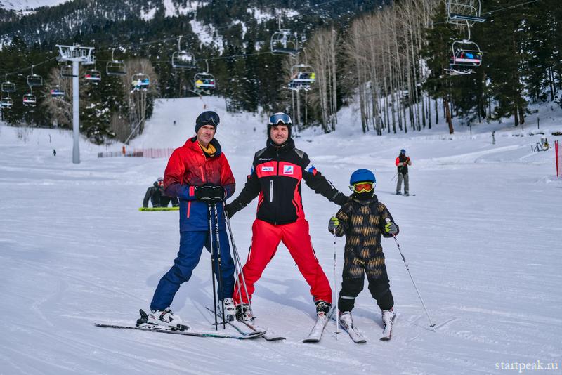 Научиться кататься на лыжах в Архызе. Многодневные курсы с инструктором
